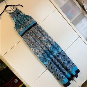 Maxi Dress w/ Necklace by white house black market